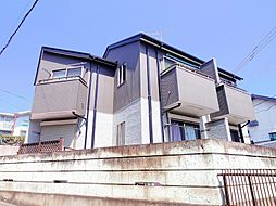 東京都東久留米市氷川台2丁目の賃貸アパートの外観