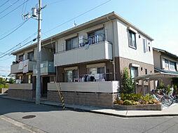 大阪府茨木市見付山2丁目の賃貸アパートの外観