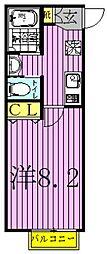 (仮称)キャメル南柏5[2階]の間取り