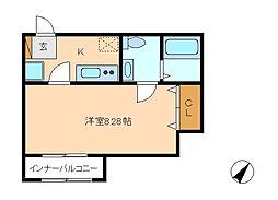 siro松戸[1階]の間取り