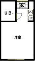 リエス羽田[305号室]の間取り