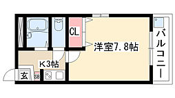 愛知県名古屋市天白区原1丁目の賃貸マンションの間取り