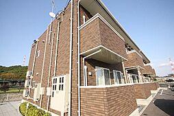 香川県高松市国分寺町福家の賃貸アパートの外観