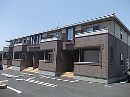 茨城県日立市田尻町7丁目の賃貸アパートの外観