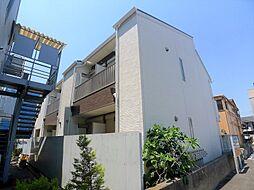 埼玉県越谷市千間台東1丁目の賃貸アパートの外観
