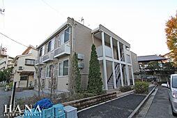 東京都足立区弘道2丁目の賃貸アパートの外観