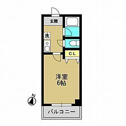 ハイトピアコバヤシ[5階]の間取り