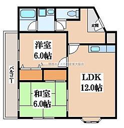 キコーマンション[2階]の間取り
