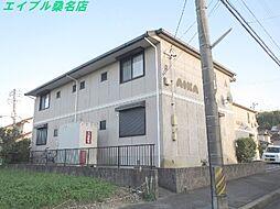 三重県桑名市東正和台6丁目の賃貸アパートの外観