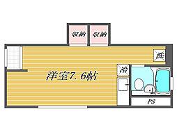 オリナス椎名町[1階]の間取り