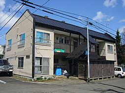 吉岡アパート[2号室]の外観