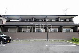 京都府京都市左京区岩倉中町の賃貸アパートの外観