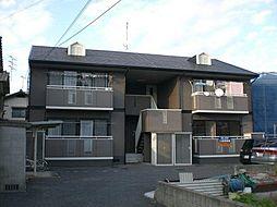 広島県広島市安佐南区西原2丁目の賃貸アパートの外観