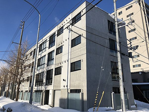 北海道札幌市西区発寒3条6丁目の賃貸マンションの外観