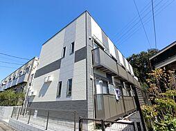 千葉県成田市公津の杜5丁目の賃貸アパートの外観