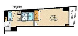 HF三田レジデンス[9階]の間取り