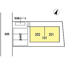 (仮称)D-room千種区朝岡町xevo[201号室]の外観