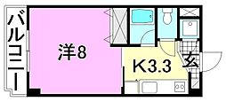 M・シャトー[206 号室号室]の間取り