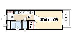 ベラ藤見ヶ丘マンション[5階]の間取り