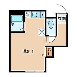 (仮)高円寺北長屋住宅[104号室]の間取り