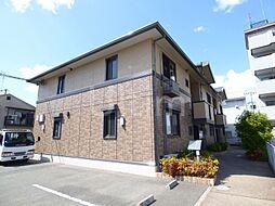 京都府京都市伏見区下鳥羽北円面田町の賃貸アパートの外観