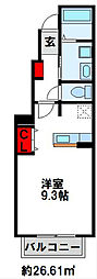 シャルマンヒロ壱番館[1階]の間取り