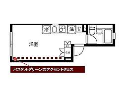 ラランティール(Ralantiru)[3階]の間取り