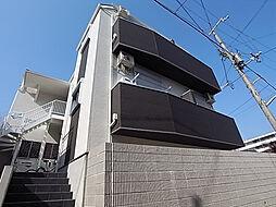 兵庫県神戸市長田区房王寺町1丁目の賃貸アパートの外観