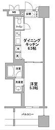 パークフラッツ横濱公園[3階]の間取り