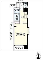 グリム覚王山[9階]の間取り