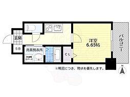 名鉄名古屋本線 金山駅 徒歩8分の賃貸マンション 9階1Kの間取り