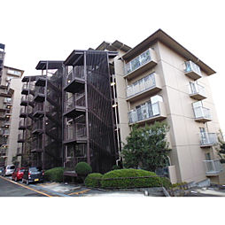 大阪府枚方市東中振2丁目の賃貸マンションの外観