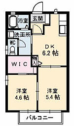 姫山フィルハーモニー コンセルトヘボウ[F201号室]の間取り