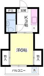 メゾンプリエ・[3階]の間取り