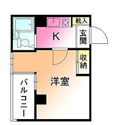 ブリックハウス[2階]の間取り