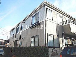 東京都板橋区小茂根2丁目の賃貸アパートの外観