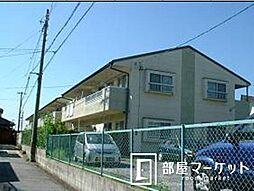愛知県豊田市明和町6丁目の賃貸アパートの外観