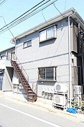 東京都調布市布田2丁目の賃貸アパートの外観