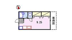 サンライフ21 A棟[1階]の間取り