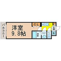 maisonINo.3(メゾンアイナンバースリー)[2階]の間取り