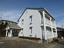 長野県長野市大字安茂里差出北の賃貸アパートの外観