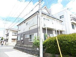 千葉県松戸市新松戸北2丁目の賃貸アパートの外観