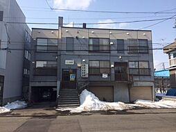 北海道札幌市清田区平岡一条1丁目の賃貸アパートの外観