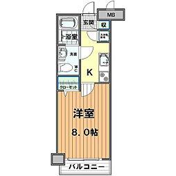 アルファコート川越脇田I[3階]の間取り