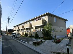 愛知県稲沢市下津片町の賃貸アパートの外観