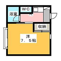 シマ・ビー・ハウス[2階]の間取り