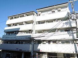 大阪府大阪市東住吉区住道矢田3丁目の賃貸マンションの外観