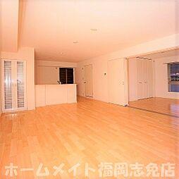 福岡県糟屋郡須惠町大字新原の賃貸マンションの外観