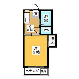 フォーブルいずみ[1階]の間取り