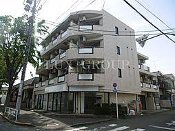 東京都八王子市散田町5丁目の賃貸マンションの外観